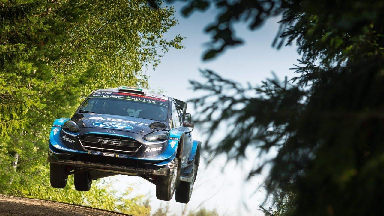 Soome ralli 2019 - rallieelne test, Suninen, Corentin Rallye