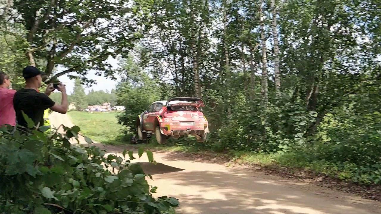 Rally Estonia 2018 - Breeni hüpe, Andrus Vissor