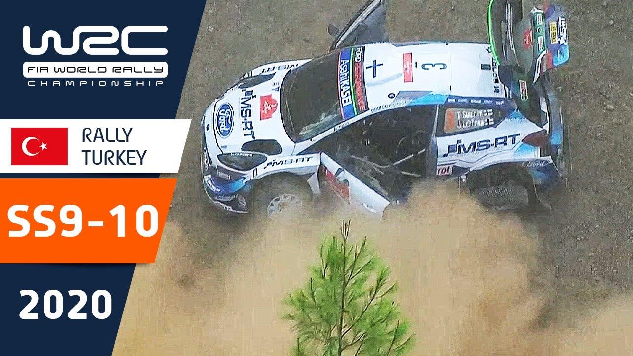 Türgi Ralli kiiruskatsete SS9 - SS10 kokkuvõte, WRC