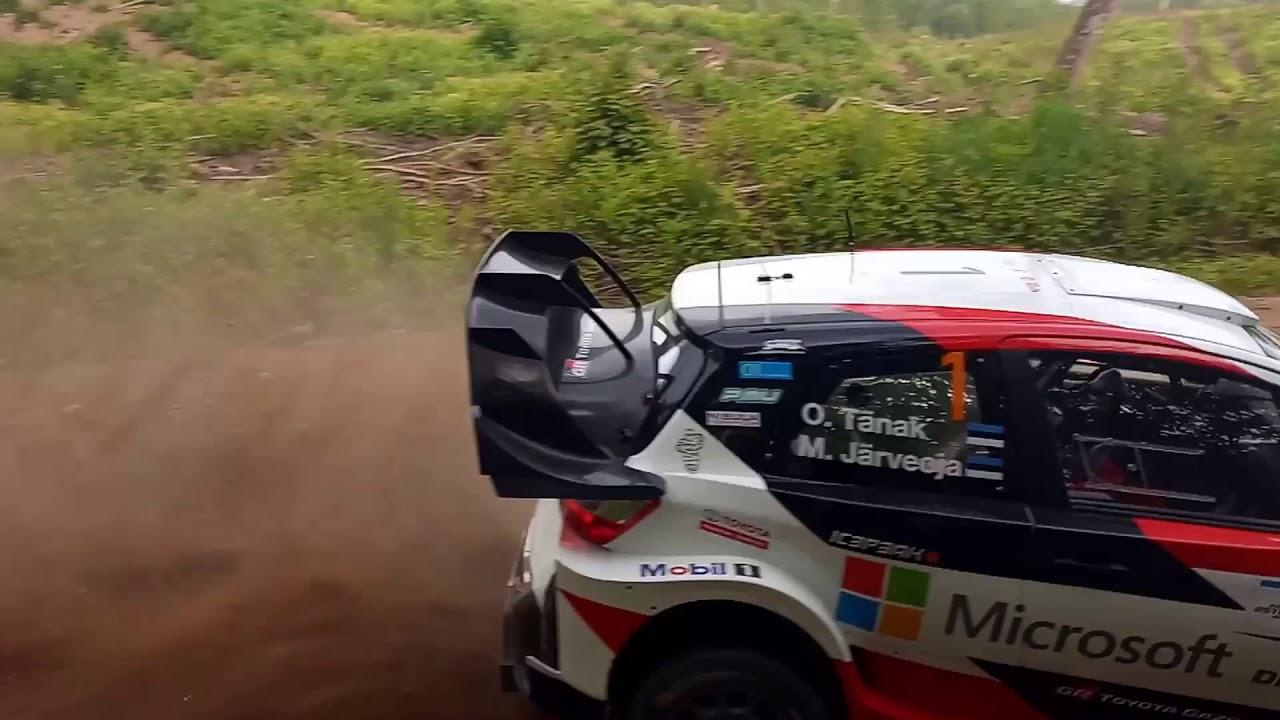 Rally Estonia 2018 - testikatse, Sander Moks