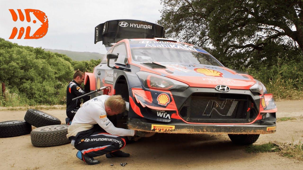 DirtFish selgitab milliseid muudatusi tehakse WRC autodele kiiruskatsete vahel