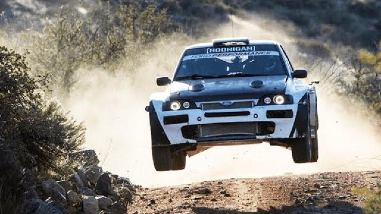 Ken Block tuleb Mehhikos rajale Ford Escort Cosworth-iga