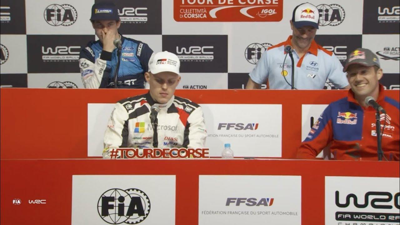 Prantsusmaa ralli 2019 - rallieelne sõitjate pressikonverents, WRC