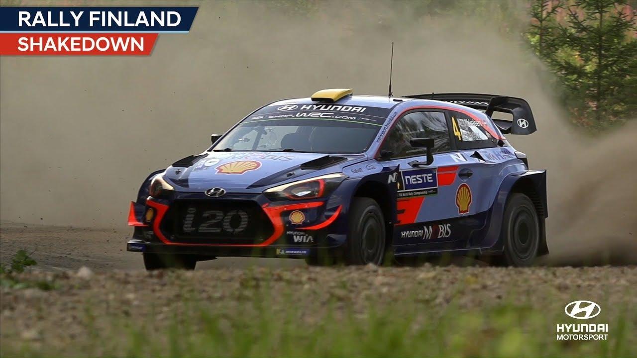 Soome ralli 2018 - testikatse, Hyundai Motorsport