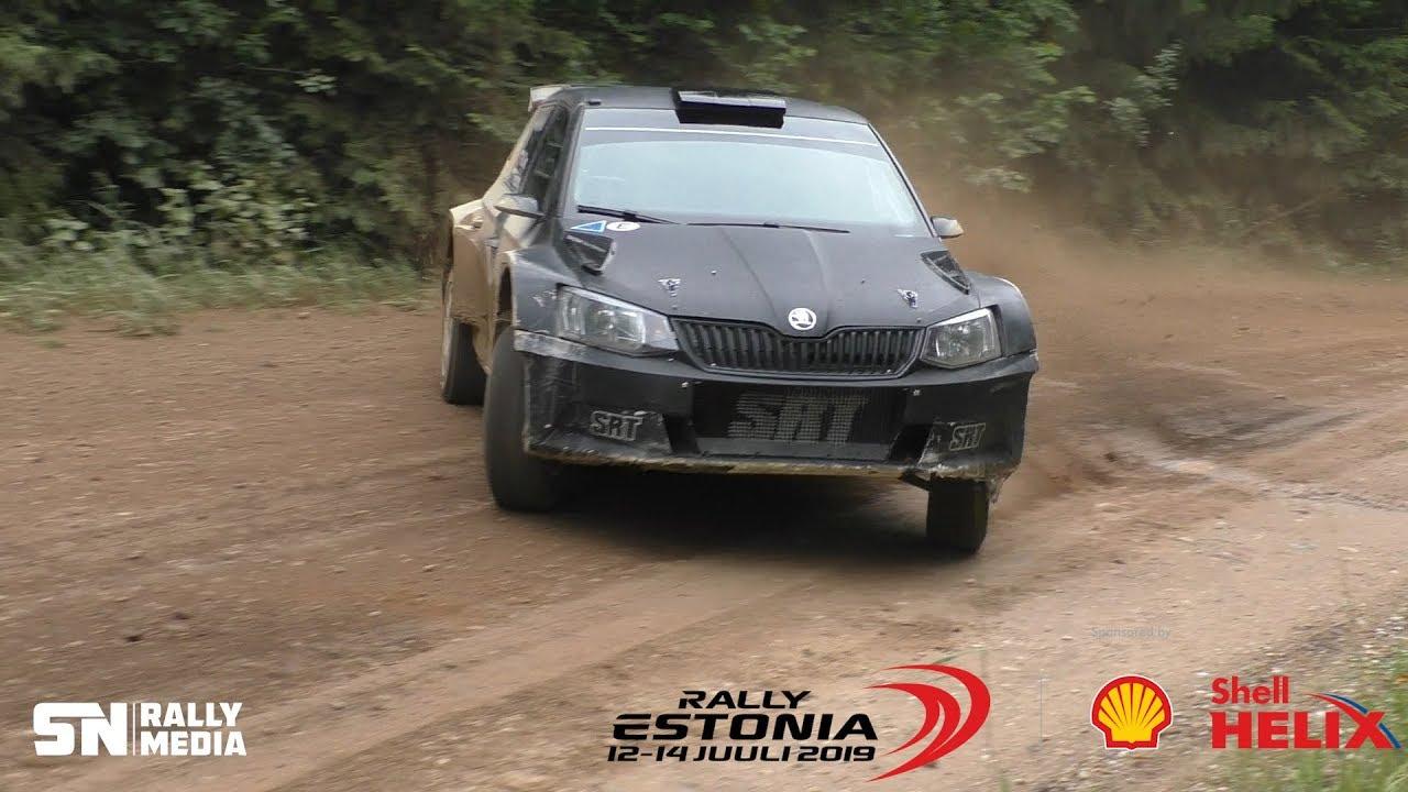 Rally Estonia 2019 - testimised enne rallit, Sander Nurm RallyMedia