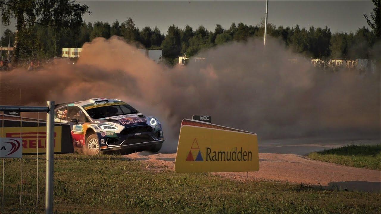 Rally Estonia 2021 videoülevaade, suured hüpped, pangazrally