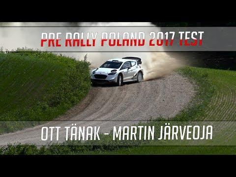 Poola ralli 2017 - rallieelne test, M-Sport, Tänak, mootorimüra