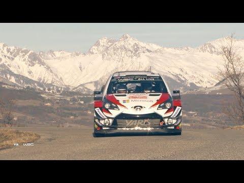 Monte Carlo ralli 2018 - shakedown testikatse, Toyota