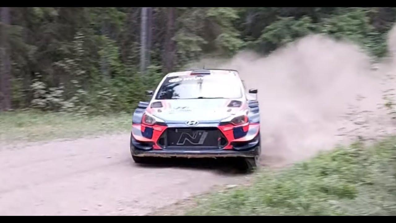 Tänak Soomes testimas Hyundai WRC masinat