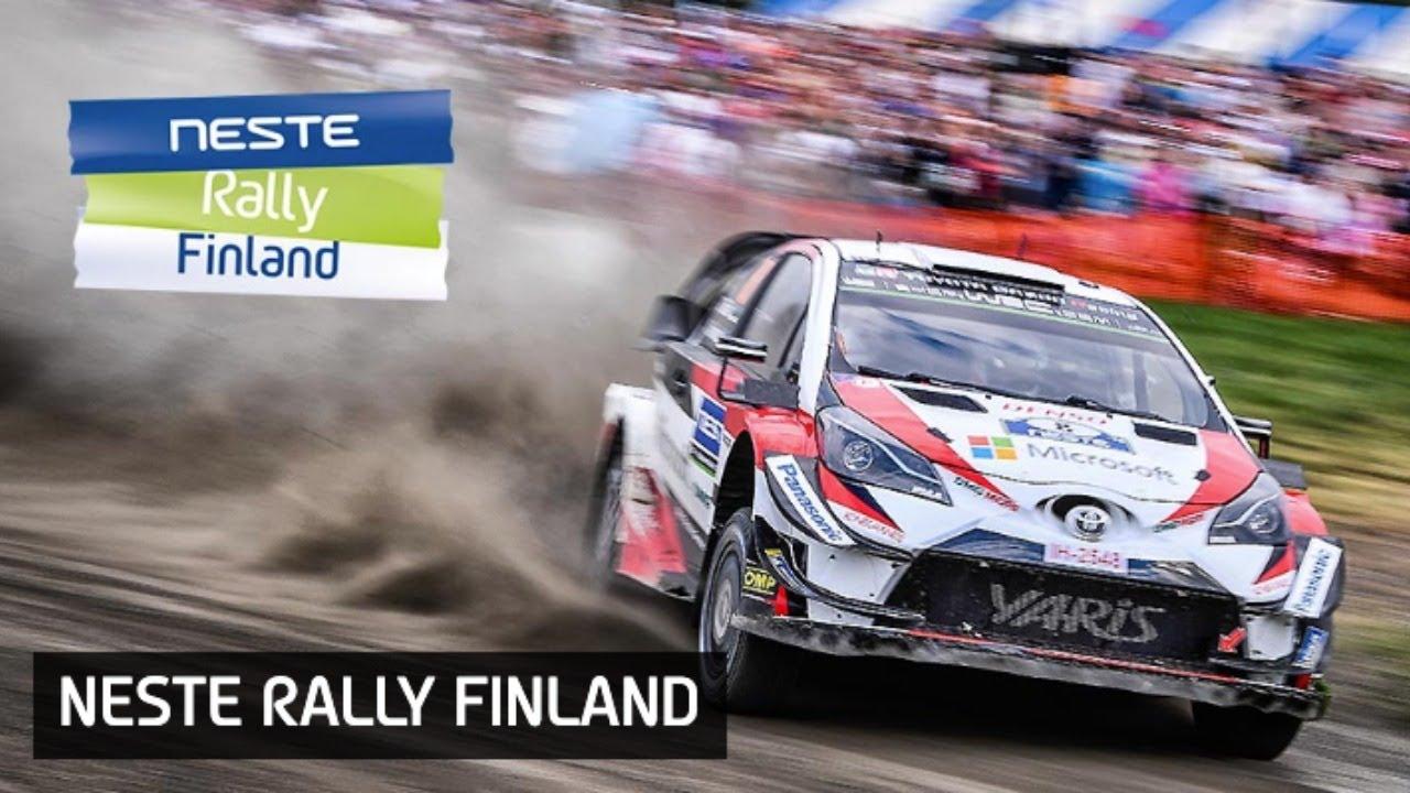 Soome ralli 2019 - testikatse live
