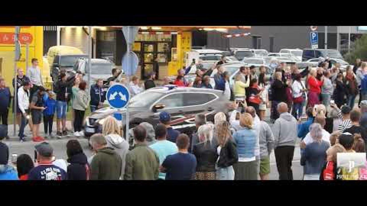 Lõuna-Eesti Ralli 2020 masinad linna läbimas, Priit Pillak