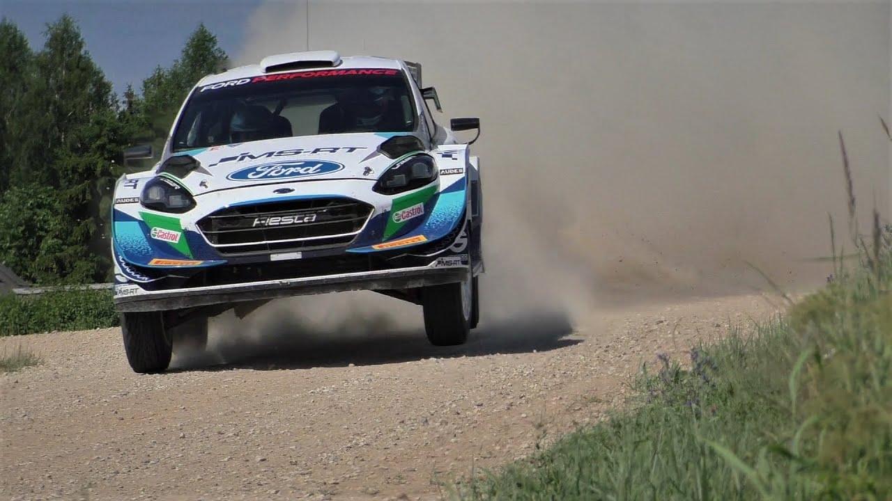 M-Sport testimine Rally Estoniaks, pangazrally