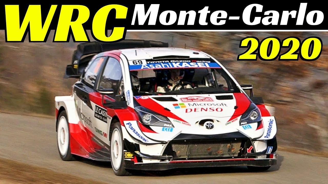 Monte Carlo ralli 2020 - shakedown testikatse, Italiansupercarvideo