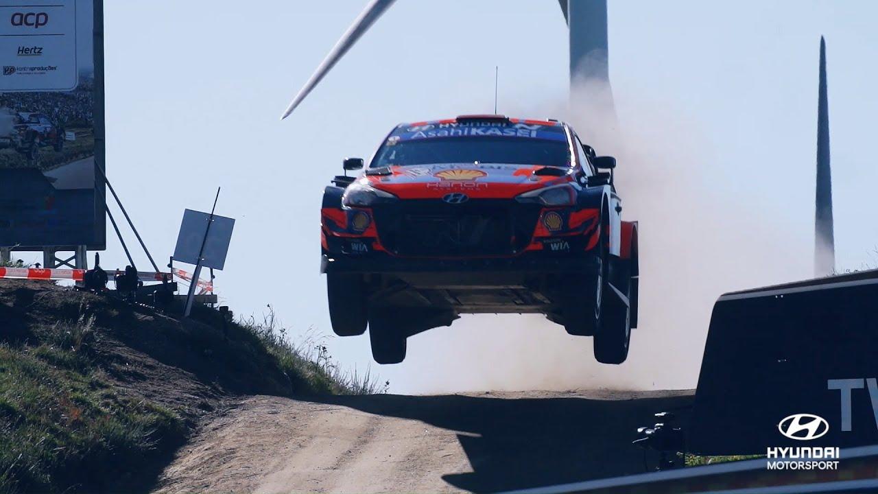 Hyundai Motorsport 2021. aasta Portugali ralli kokkuvõte