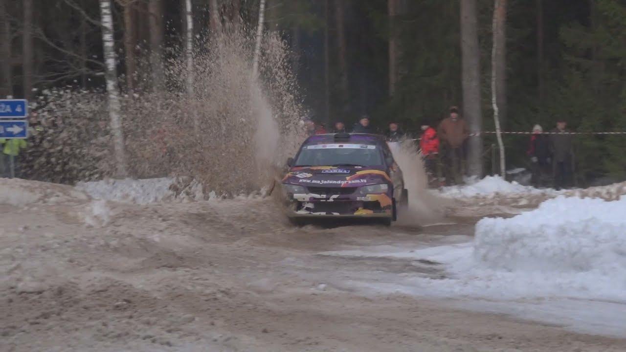 Rally Sarma 2019 - vihane kihutamine ja apsakad, Evaldas Bartaška