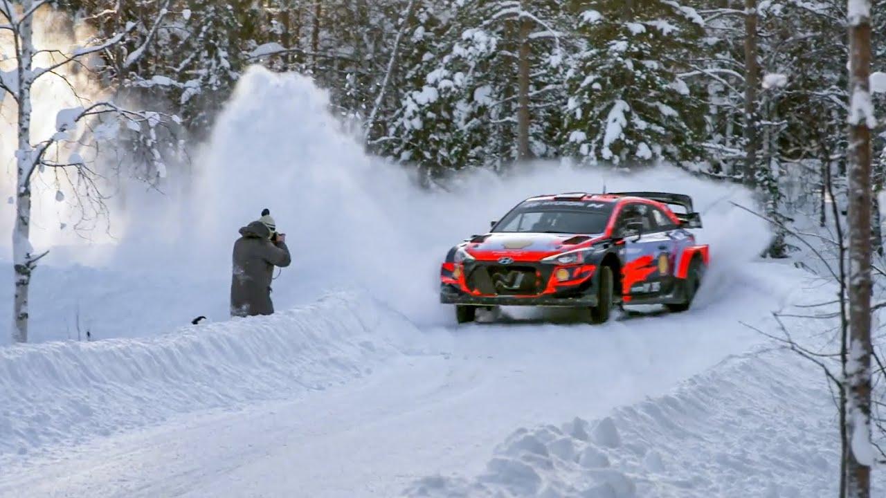 Solbergi Arctic Rally Finland eelne test, DirtFish