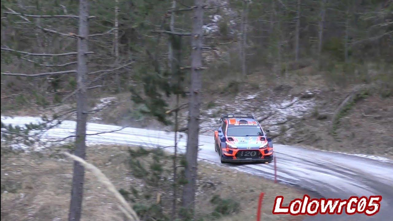 Monte Carlo ralli 2020 - rallieelne test, Tänak ja Hyundai - Lolowrc05