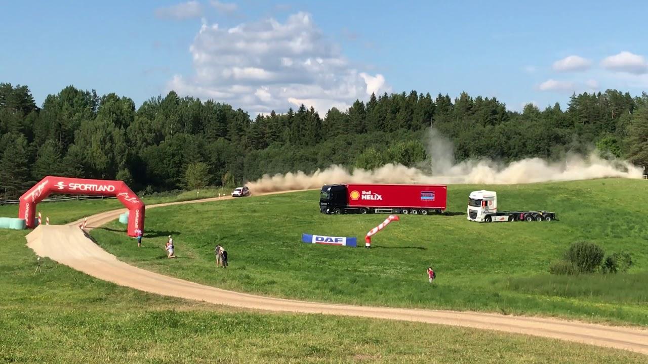 Rally Estonia 2018 - 1. päev, SS10, Tänaku stiilinäide