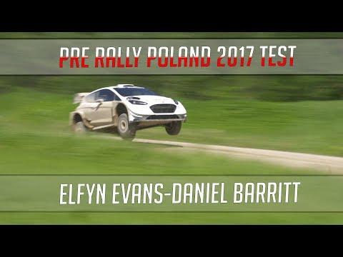 Poola ralli 2017 - rallieelne test, M-Sport, Elfyn Evans