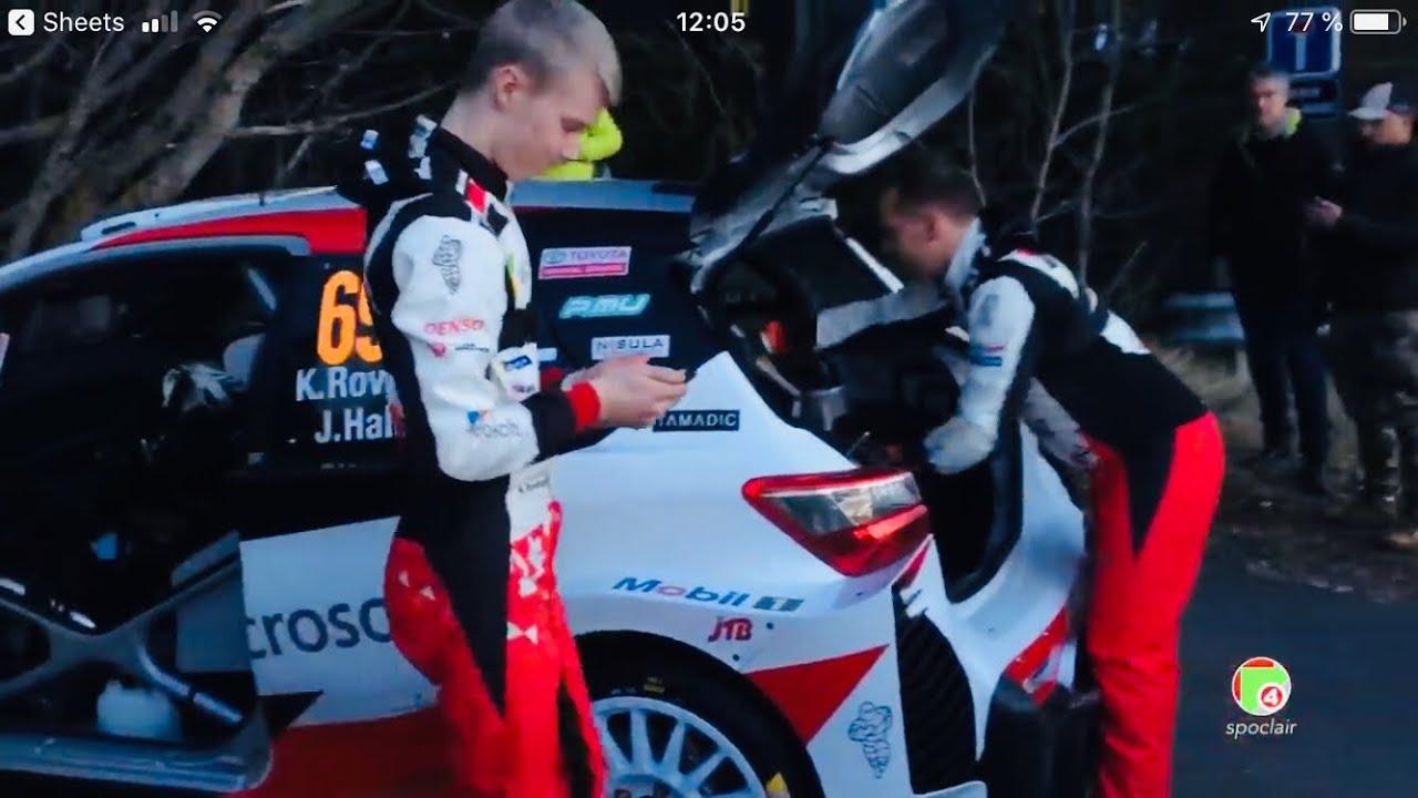 Monte Carlo ralli 2020 - shakedown testikatse telgitagused, daniel spoclair