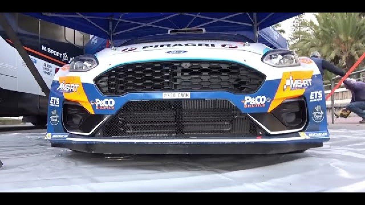 Rallye Sanremo 2021 hooldusala