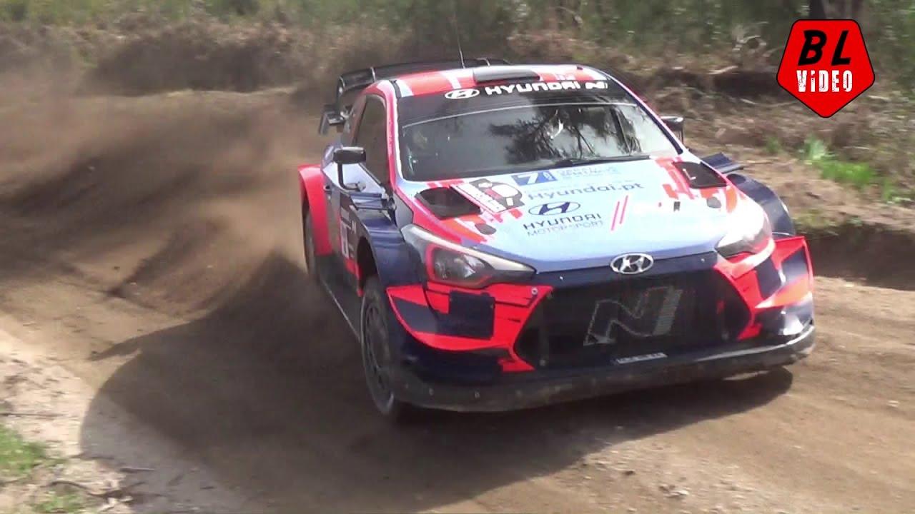 Rally Serras de Fafe 2020 shakedown testikatse, Brais López Vídeo