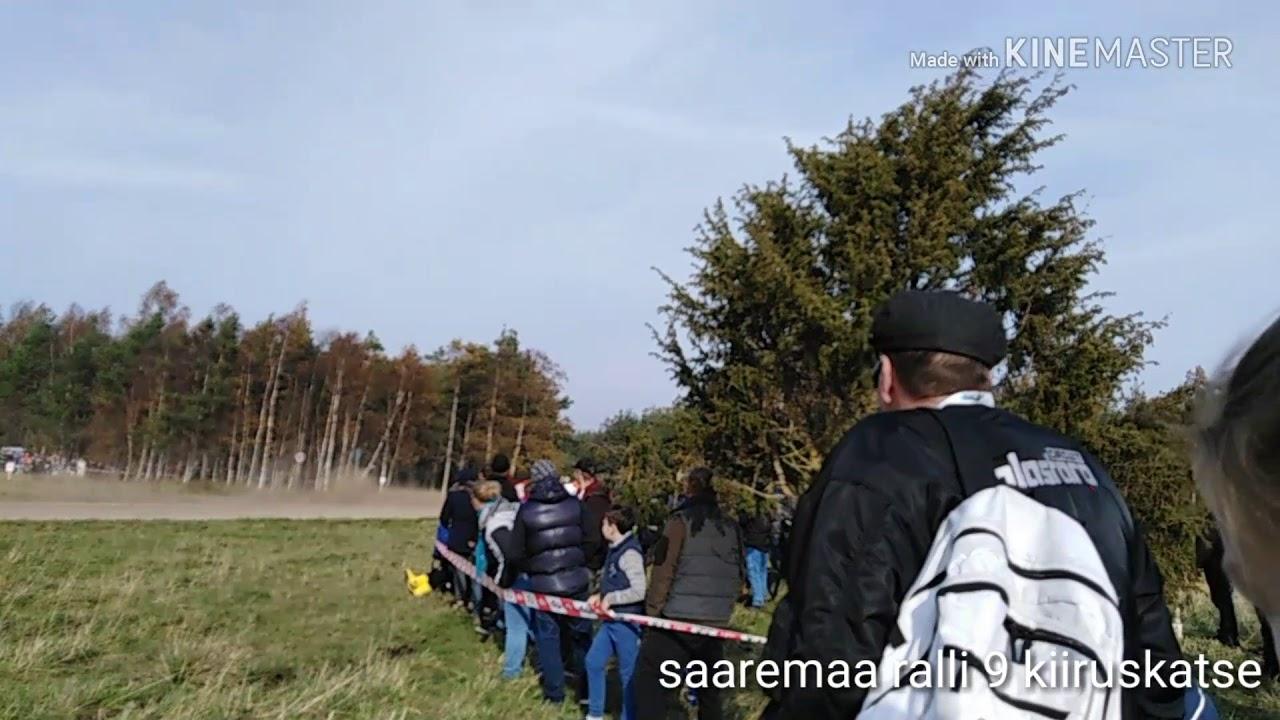 Saaremaa ralli 2018 - SS9 ja poodium