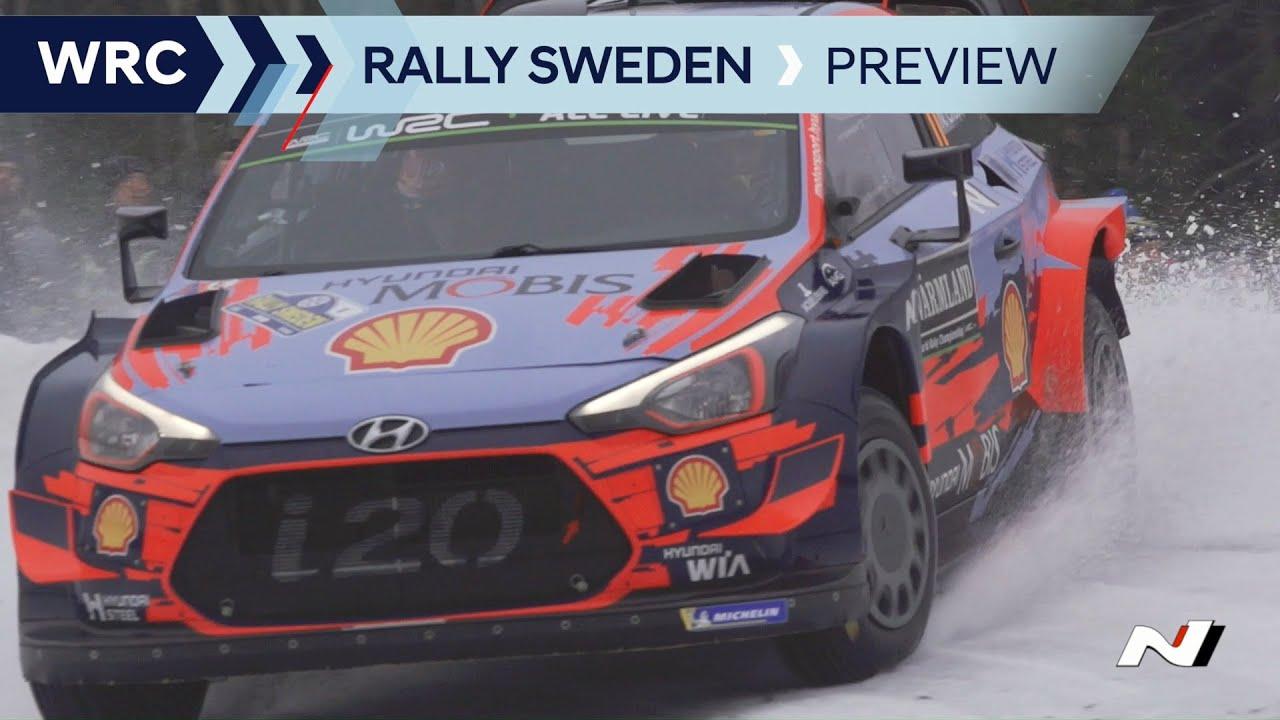 Hyundai Rootsi ralli 2020 eelvaade