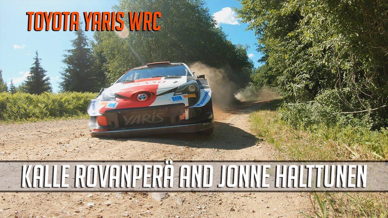 Rovanperä Rally Estonia 2021 test, Powerstage