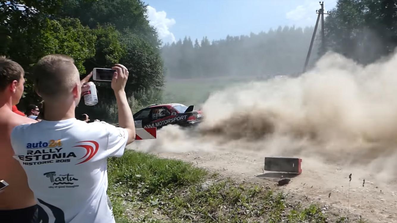 Rally Estonia 2018 - 1. päev, SS7/SS9 napikad ja õnnetused