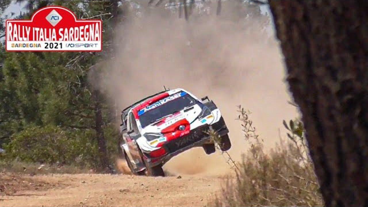 Sardiinia ralli 2021 reedese võistluspäeva parimad hetked, TOP Video Rally