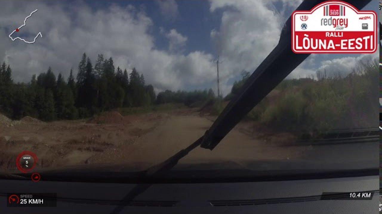 RedGrey Team Lõuna-Eesti ralli 2020 - SS9 Gardest & SS11 JM Auto
