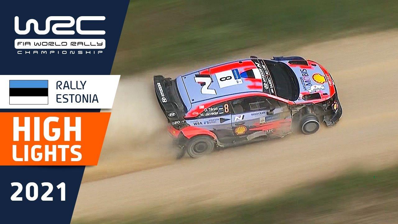 Rally Estonia 2021 kiiruskatsete SS2 - SS5 kokkuvõte