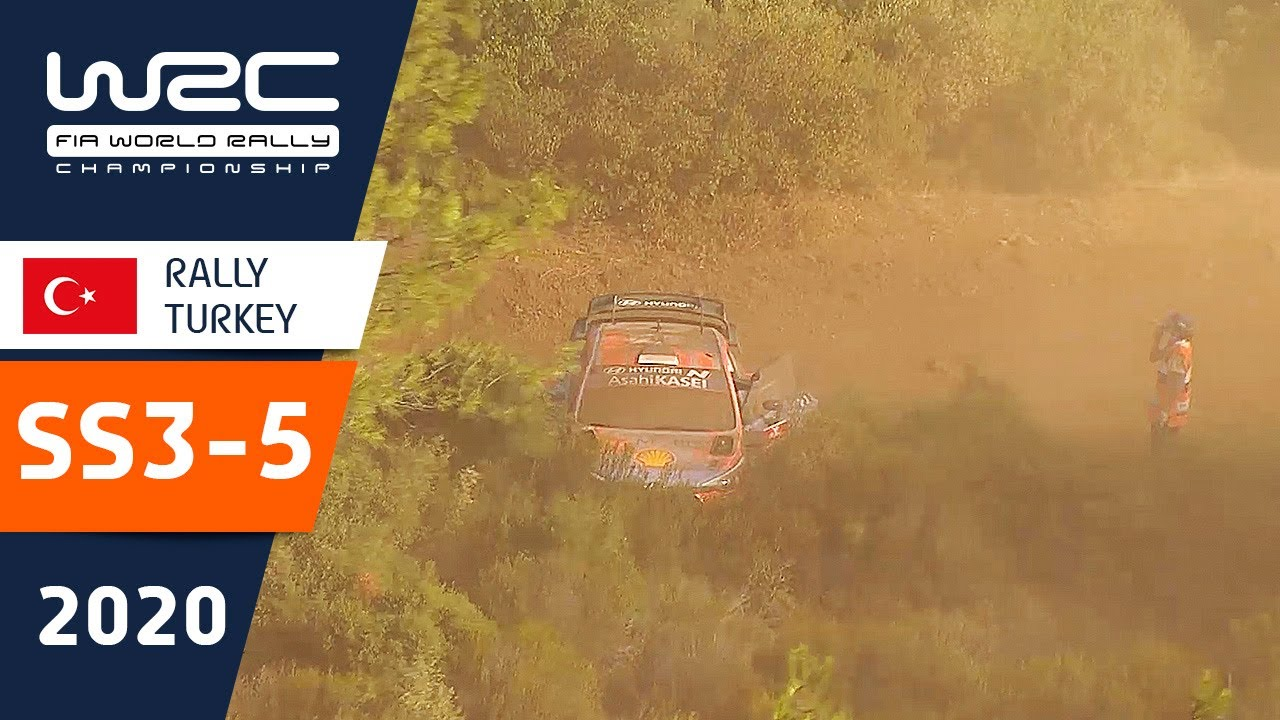 Türgi Ralli kiiruskatsete SS3 - SS5 kokkuvõte, WRC