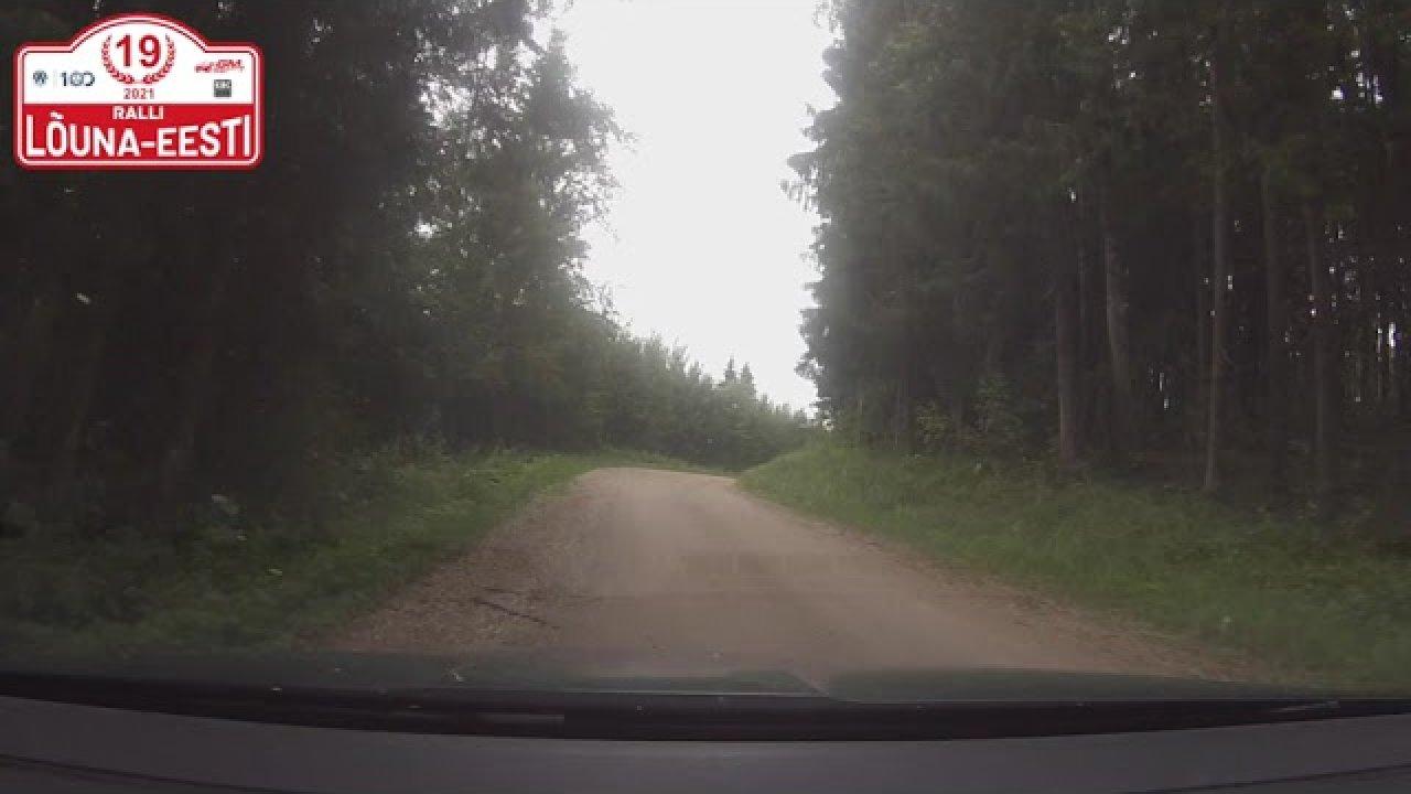 Lõuna-Eesti Ralli 2021 SS3 - Grossi Toidukaubad
