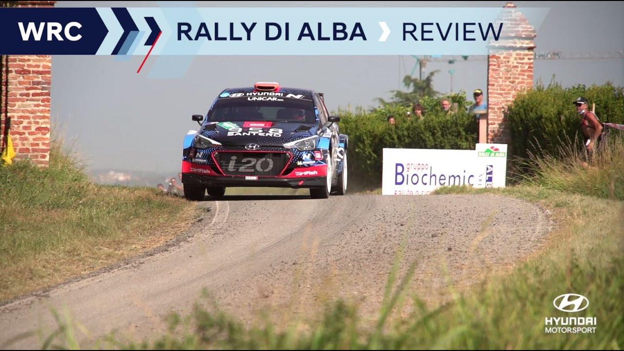 Hyundai Motorspordi Rally di Alba ülevaade