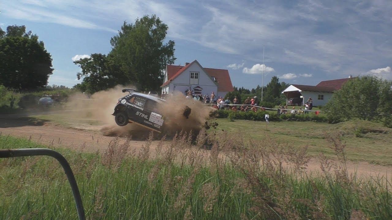 Rally Estonia 2018 - 1. päev, napid pääsemised ja ebaõnnestumised