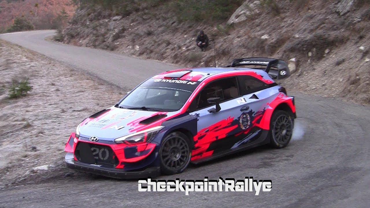 Monte Carlo ralli 2020 - rallieelne test, Tänak ja Hyundai - Checkpoint Rallye
