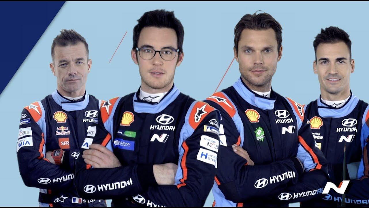 Hooaeg 2019 - Hyundai Motorsport sõitjate esitlus