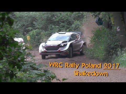 Poola rall 2017 - shakedown testikatse, Rallyefokus