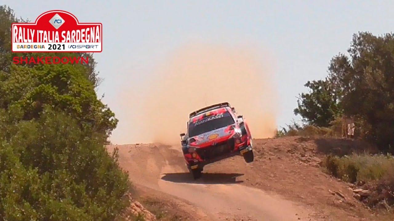 Sardiinia ralli 2021 shakedown testikatse, TOP Video Rally