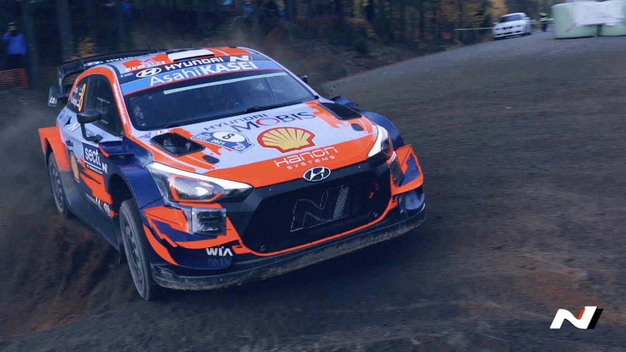 Hyundai Motorsport Soome ralli 2021 kokkuvõte