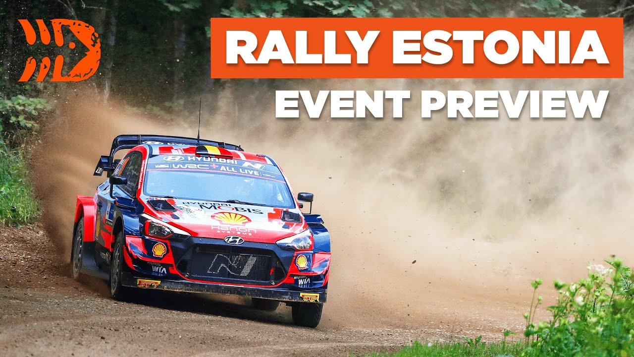 Rally Estonia 2021 ralli eelvaade, DirtFish