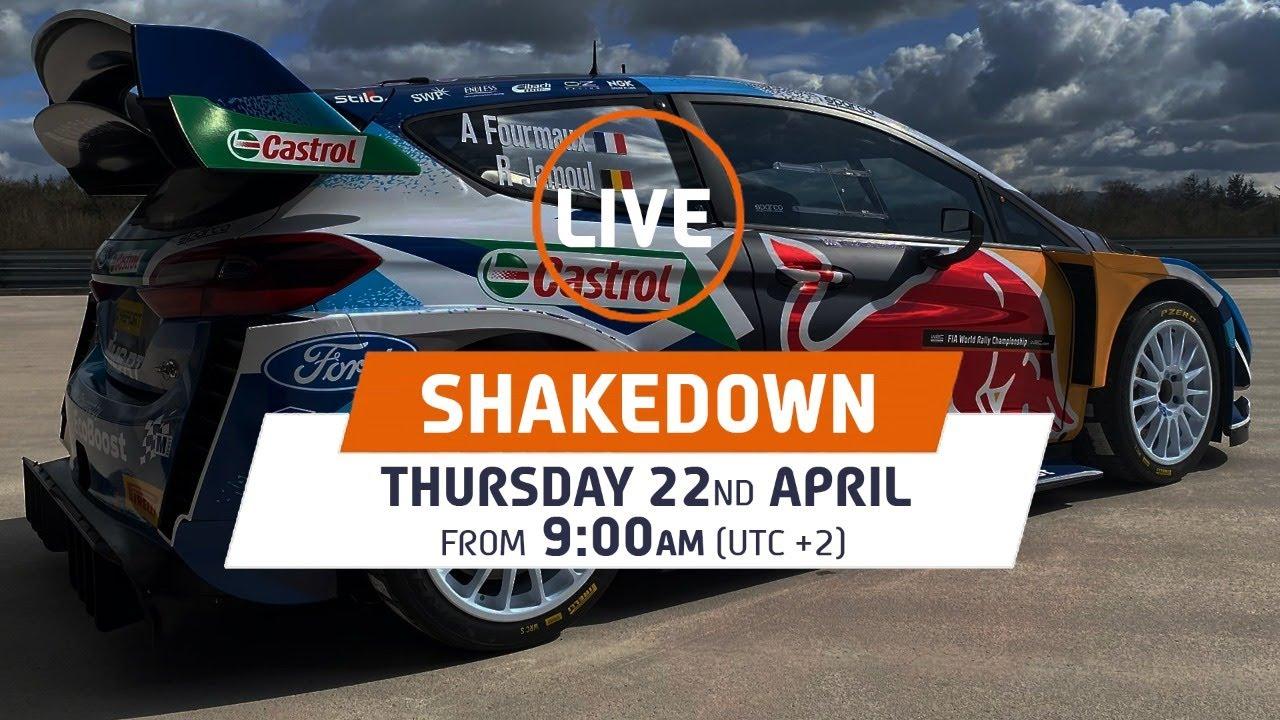 Horvaatia Rally shakedown testikatse otseülekanne järelvaadatav