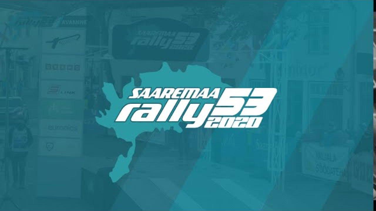 Saaremaa Rally 2020 avamine ja SS2 otseülekanne järelvaadatavana