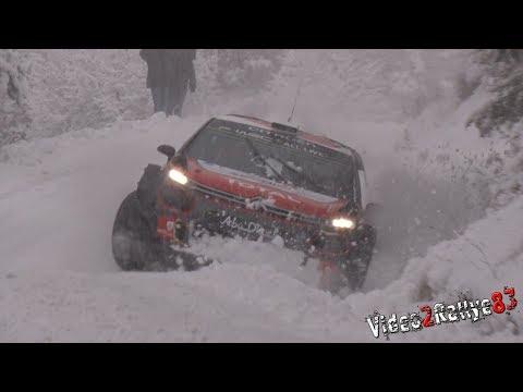 Monte Carlo ralli 2018 - rallieelne test, Kris Meeke & Craig Breen