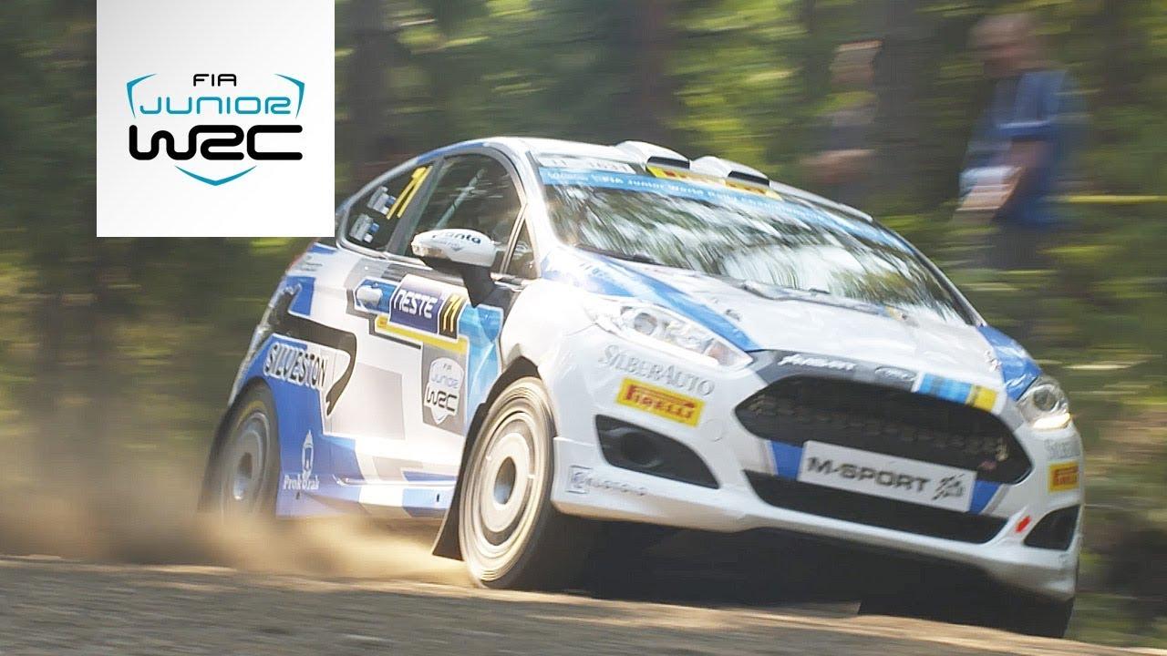 Soome ralli 2018 - 1. päev, ülevaade, Junior WRC, FIA