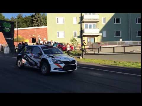 Soome ralli 2017 - SS1, Huttunen