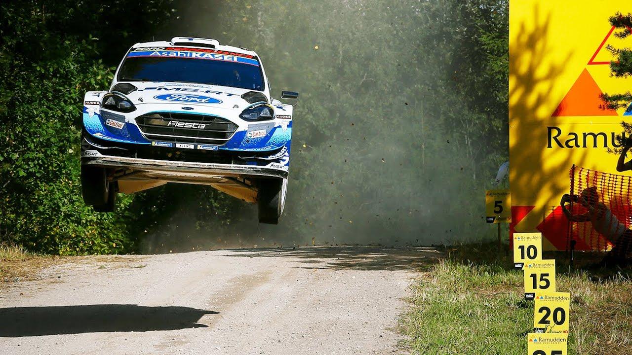 Rally Estonia kõva admine, suured hüpped ja mootorimüra