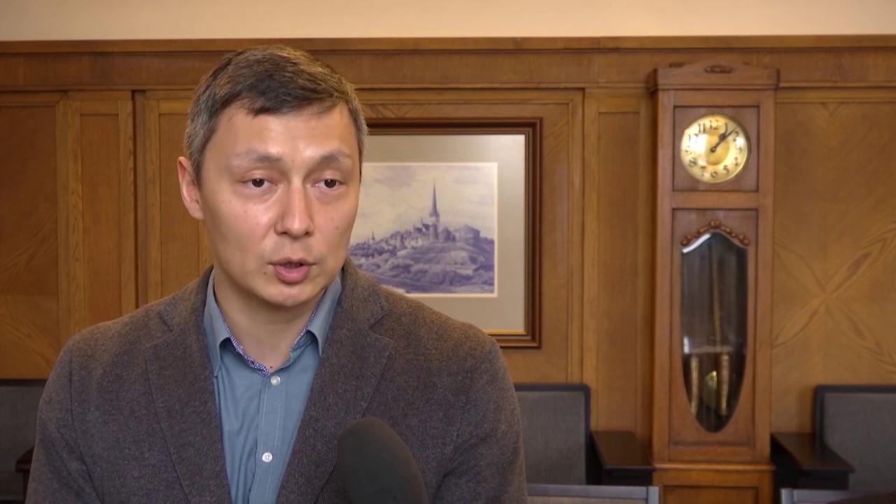 Обращение мэра Таллинна Михаила Кылварта